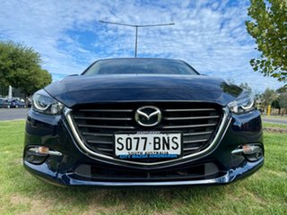 2016 Mazda 3 BN5478 Touring SKYACTIV-Drive Deep Crystal Blue 6 Speed Sports Automatic Hatchback.
