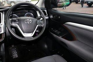2015 Toyota Kluger GSU50R GX 2WD Black 6 Speed Sports Automatic SUV