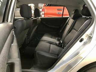 2002 Toyota Corolla ZZE122R Ascent Silver 4 Speed Automatic Hatchback