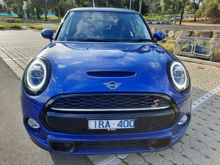 2018 Mini Hatch F56 LCI Cooper S DCT Blue 7 Speed Sports Automatic Dual Clutch Hatchback.