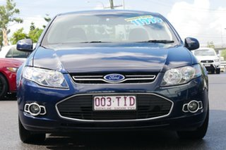 2012 Ford Falcon FG MkII G6 EcoBoost Blue 6 Speed Sports Automatic Sedan.