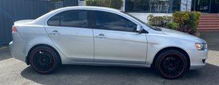 2012 Mitsubishi Lancer CJ MY12 ES Silver 6 Speed Constant Variable Sedan.