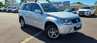 2008 Suzuki Grand Vitara JB MY09 Silver 4 Speed Automatic Wagon.