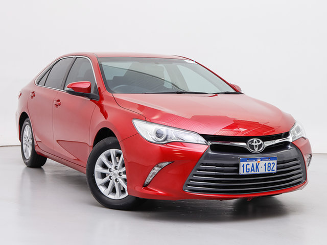 Used Toyota Camry ASV50R MY15 Altise, 2015 Toyota Camry ASV50R MY15 Altise Red 6 Speed Automatic Sedan