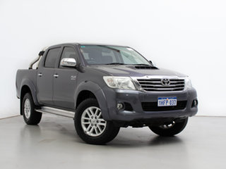 2014 Toyota Hilux KUN26R MY14 SR5 (4x4) Graphite 5 Speed Automatic Dual Cab Pick-up.