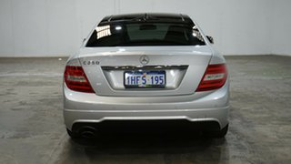 2014 Mercedes-Benz C-Class C204 MY14 C250 7G-Tronic + Silver 7 Speed Sports Automatic Coupe