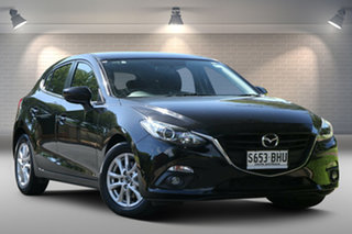 2015 Mazda 3 BM5478 Maxx SKYACTIV-Drive Black 6 Speed Sports Automatic Hatchback.