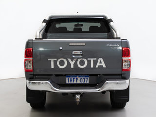 2014 Toyota Hilux KUN26R MY14 SR5 (4x4) Graphite 5 Speed Automatic Dual Cab Pick-up