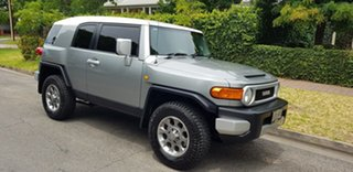 2011 Toyota FJ Cruiser GSJ15R Quartz 5 Speed Automatic Wagon.