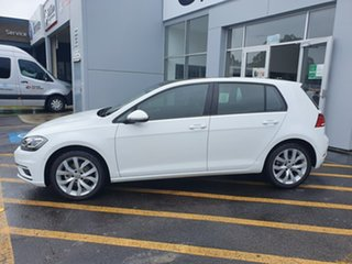 2020 Volkswagen Golf 7.5 MY20 110TSI DSG Highline White 7 Speed Sports Automatic Dual Clutch