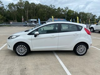 2010 Ford Fiesta WS LX White 4 Speed Automatic Hatchback