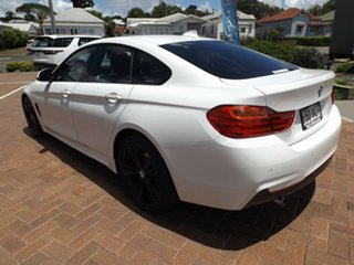 2014 BMW 4 Series F36 420d Gran Coupe Modern Line White 8 Speed Sports Automatic Hatchback