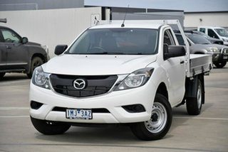 2018 Mazda BT-50 UR0YE1 XT 4x2 6 Speed Manual Cab Chassis