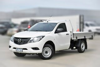 2018 Mazda BT-50 UR0YE1 XT 4x2 6 Speed Manual Cab Chassis.
