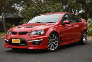 2009 Holden Special Vehicles ClubSport E Series MY09 R8 Red 6 Speed Sports Automatic Sedan.