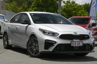 2020 Kia Cerato BD MY21 GT DCT Silky Silver 7 Speed Sports Automatic Dual Clutch Sedan.