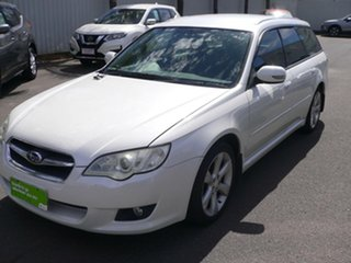 2008 Subaru Liberty B4 MY08 AWD White 4 Speed Sports Automatic Wagon
