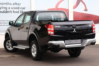 2018 Mitsubishi Triton MQ MY18 GLX+ Club Cab Black Mica 5 Speed Sports Automatic Utility