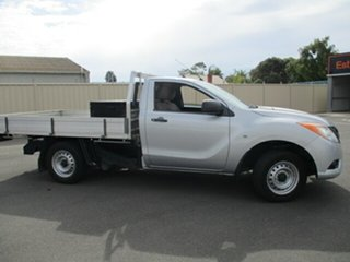 2013 Mazda BT-50 UP0YD1 XT 4x2 Grey 6 Speed Manual Cab Chassis