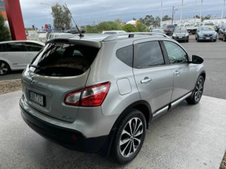 2013 Nissan Dualis J10 MY13 TI-L (4x2) Silver 6 Speed CVT Auto Sequential Wagon