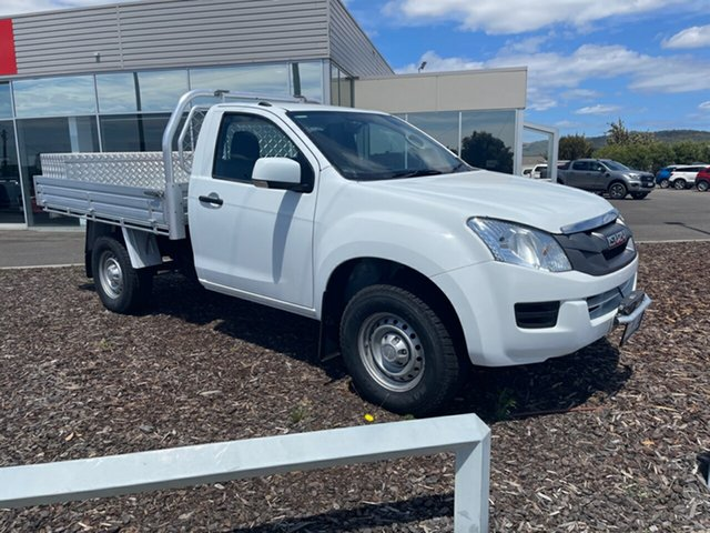 Used Isuzu D-MAX MY15.5 SX Devonport, 2016 Isuzu D-MAX MY15.5 SX White 5 Speed Manual Cab Chassis