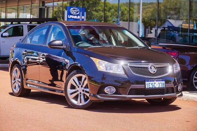 Used Holden Cruze JH Series II MY14 SRi Z Series Gosnells, 2014 Holden Cruze JH Series II MY14 SRi Z Series Black 6 Speed Sports Automatic Sedan