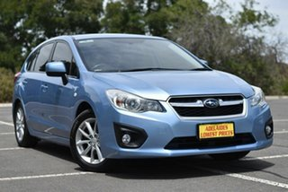 2012 Subaru Impreza G4 MY12 2.0i-L Lineartronic AWD Blue 6 Speed Constant Variable Hatchback.