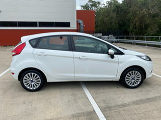 2010 Ford Fiesta WS LX White 4 Speed Automatic Hatchback.