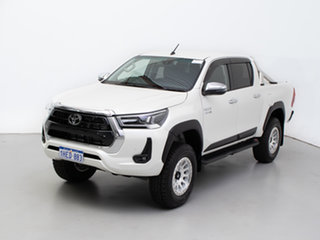 2020 Toyota Hilux GUN126R Facelift SR5 (4x4) White 6 Speed Automatic Double Cab Chassis