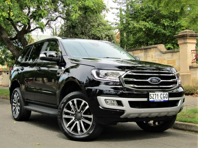 Demo Ford Everest UA II 2020.75MY Trend Hyde Park, 2020 Ford Everest UA II 2020.75MY Trend Shadow Black 6 Speed Sports Automatic SUV