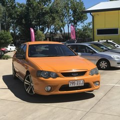 2007 Ford Falcon BF Mk II XR6 Orange 6 Speed Sports Automatic Sedan.