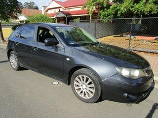 2008 Subaru Impreza MY09 R (AWD) Charcoal 4 Speed Automatic Hatchback.