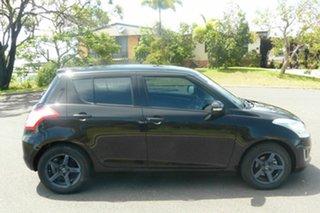 2014 Suzuki Swift FZ MY14 GL Black 5 Speed Manual Hatchback.