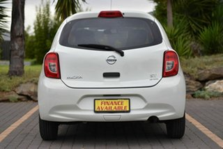 2015 Nissan Micra K13 Series 4 MY15 ST White 5 Speed Manual Hatchback