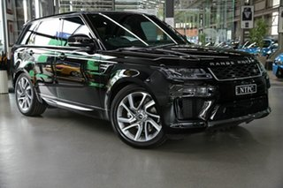 2019 Land Rover Range Rover Sport L494 20MY HSE Black 8 Speed Sports Automatic Wagon.