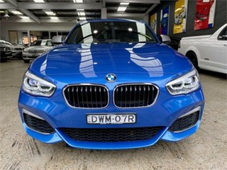 2018 BMW 1 Series F20 LCI-2 M140i Blue Sports Automatic Hatchback.