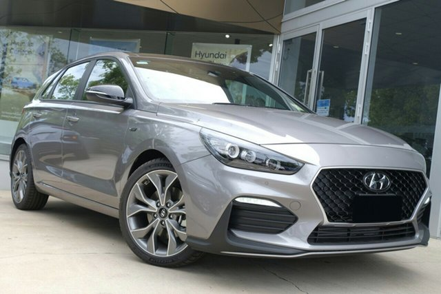 New Hyundai i30 PD.V4 MY21 N Line D-CT Premium Aspley, 2020 Hyundai i30 PD.V4 MY21 N Line D-CT Premium Fluidic Metal 7 Speed Sports Automatic Dual Clutch