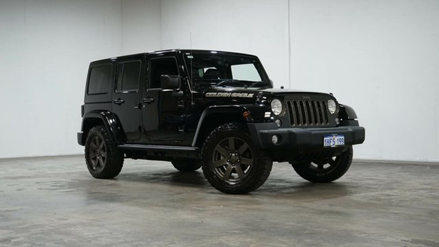 Used Jeep Wrangler JK MY18 Golden Eagle Welshpool, 2018 Jeep Wrangler JK MY18 Golden Eagle Black 5 Speed Automatic Softtop