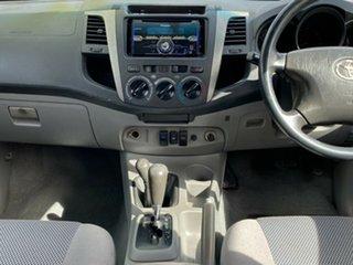 2007 Toyota Hilux KUN26R MY07 SR5 Silver 4 Speed Automatic Utility