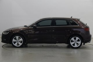 2014 Audi A3 8V Ambition Sportback S Tronic Red 7 Speed Sports Automatic Dual Clutch Hatchback.