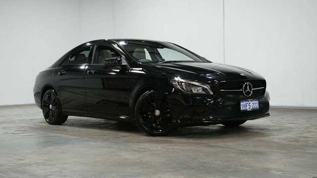 Used Mercedes-Benz CLA-Class C117 807MY CLA200 DCT Welshpool, 2016 Mercedes-Benz CLA-Class C117 807MY CLA200 DCT Black 7 Speed Sports Automatic Dual Clutch Coupe