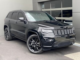 2017 Jeep Grand Cherokee WK MY17 Blackhawk Black 8 Speed Sports Automatic Wagon.