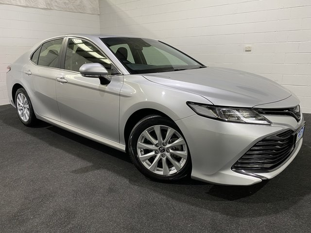 Used Toyota Camry ASV70R Ascent Devonport, 2019 Toyota Camry ASV70R Ascent Silver 6 Speed Sports Automatic Sedan
