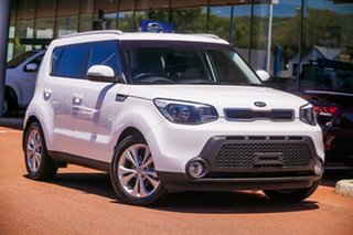 2014 Kia Soul PS MY15 SI White 6 Speed Sports Automatic Hatchback.