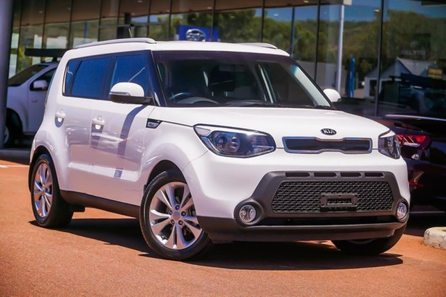 Used Kia Soul PS MY15 SI Gosnells, 2014 Kia Soul PS MY15 SI White 6 Speed Sports Automatic Hatchback