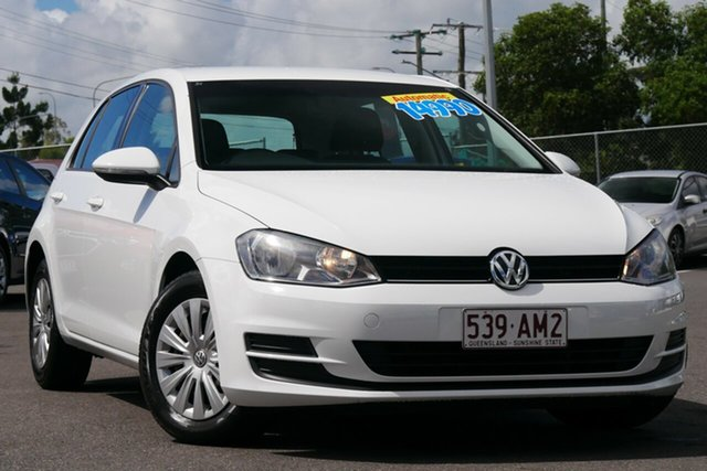 Used Volkswagen Golf VII MY14 90TSI DSG Hillcrest, 2014 Volkswagen Golf VII MY14 90TSI DSG White 7 Speed Sports Automatic Dual Clutch Hatchback