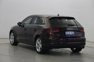 2014 Audi A3 8V Ambition Sportback S Tronic Red 7 Speed Sports Automatic Dual Clutch Hatchback