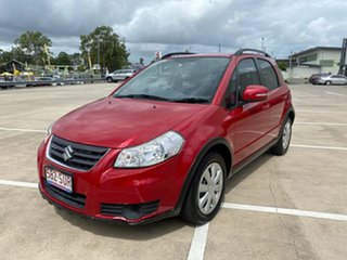 2012 Suzuki SX4 GY MY11 Red Continuous Variable Hatchback
