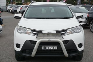 2013 Toyota RAV4 ALA49R GX AWD White 6 Speed Sports Automatic Wagon.