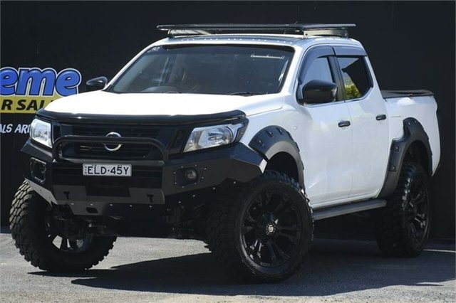 Used Nissan Navara D23 RX Campbelltown, 2015 Nissan Navara D23 RX White 6 Speed Manual Cab Chassis